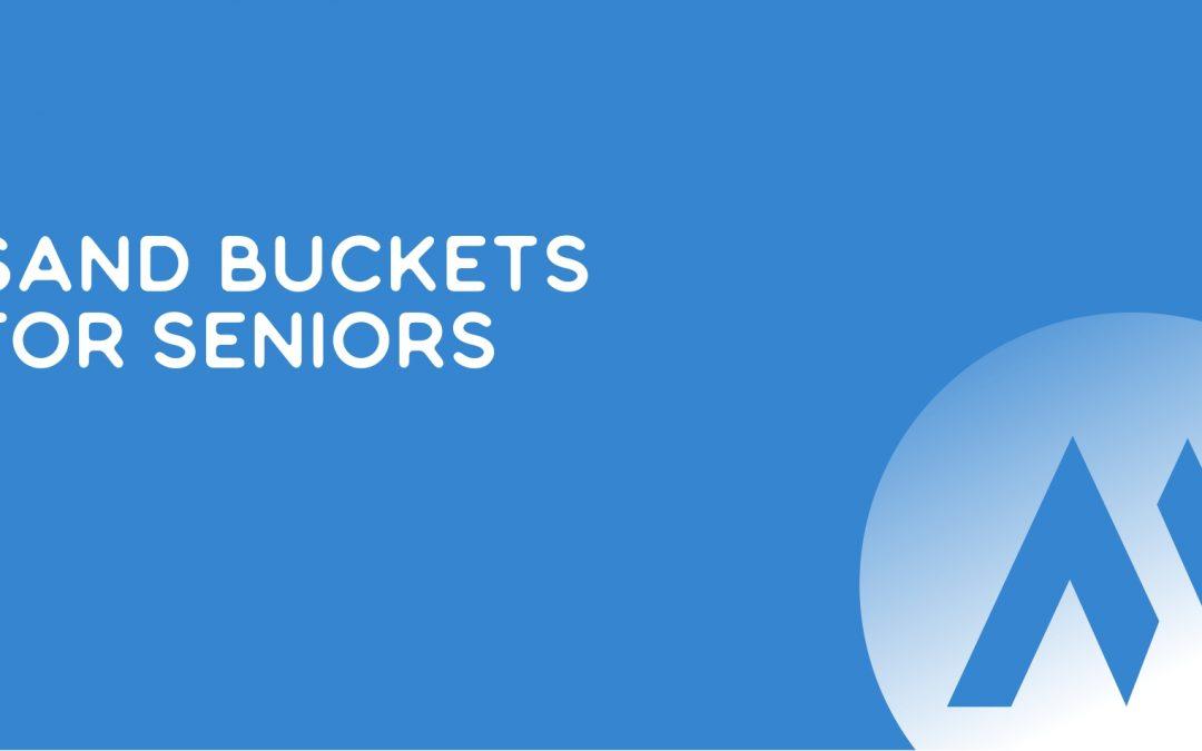 Sand Buckets for Seniors