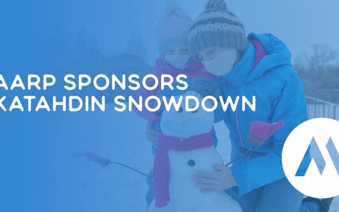 AARP Sponsors Katahdin Snowdown